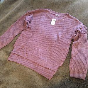 Charlotte Russe XS Sweater NEW